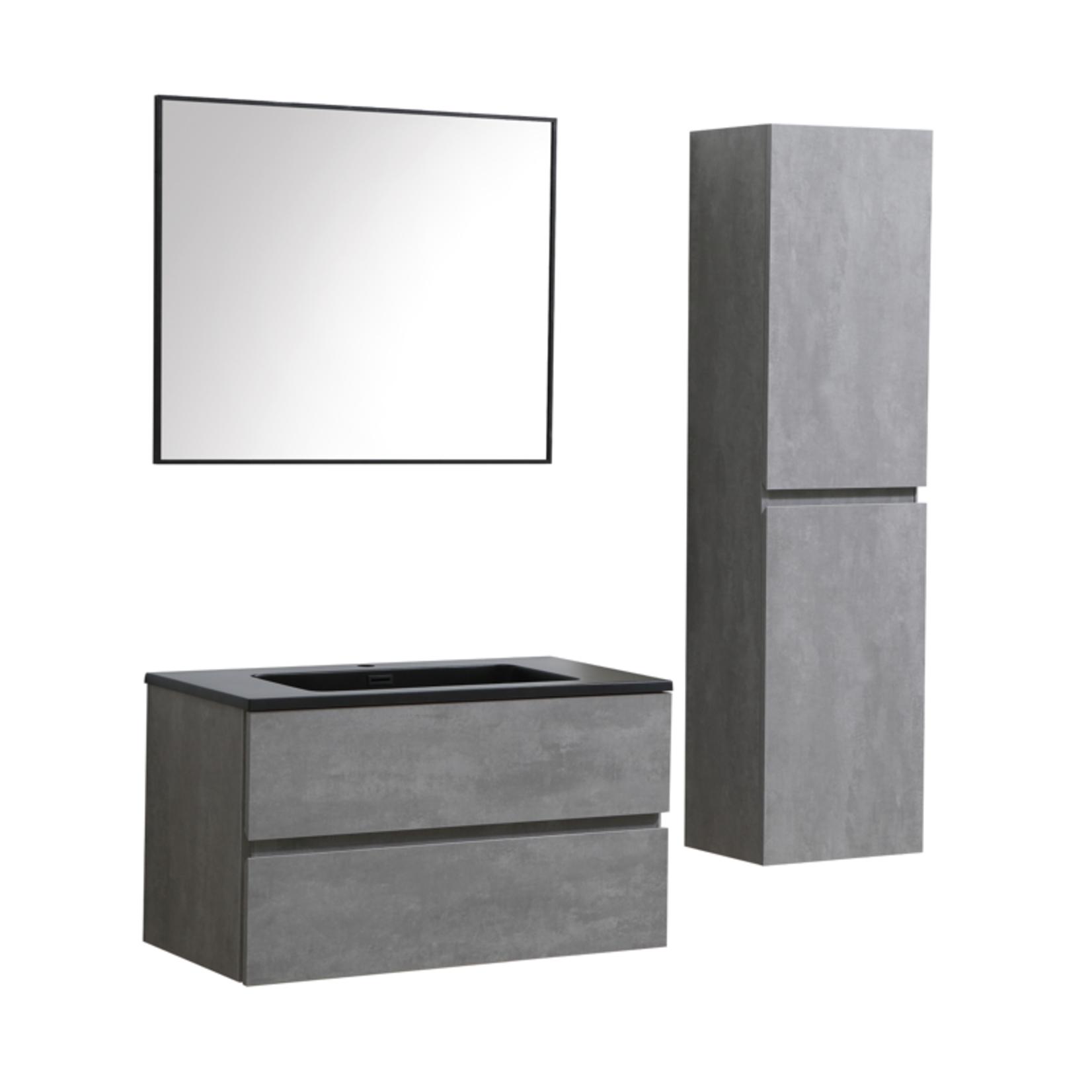 """Vanité 36"""" VAN9000 CG Akuaplus (béton)  unite lateral et miroir vendu separement"""