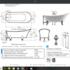 67'' Clawfoot Freestanding tub
