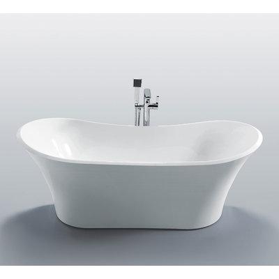 Jade Penelope 71'' Freestanding Bathtub Jade