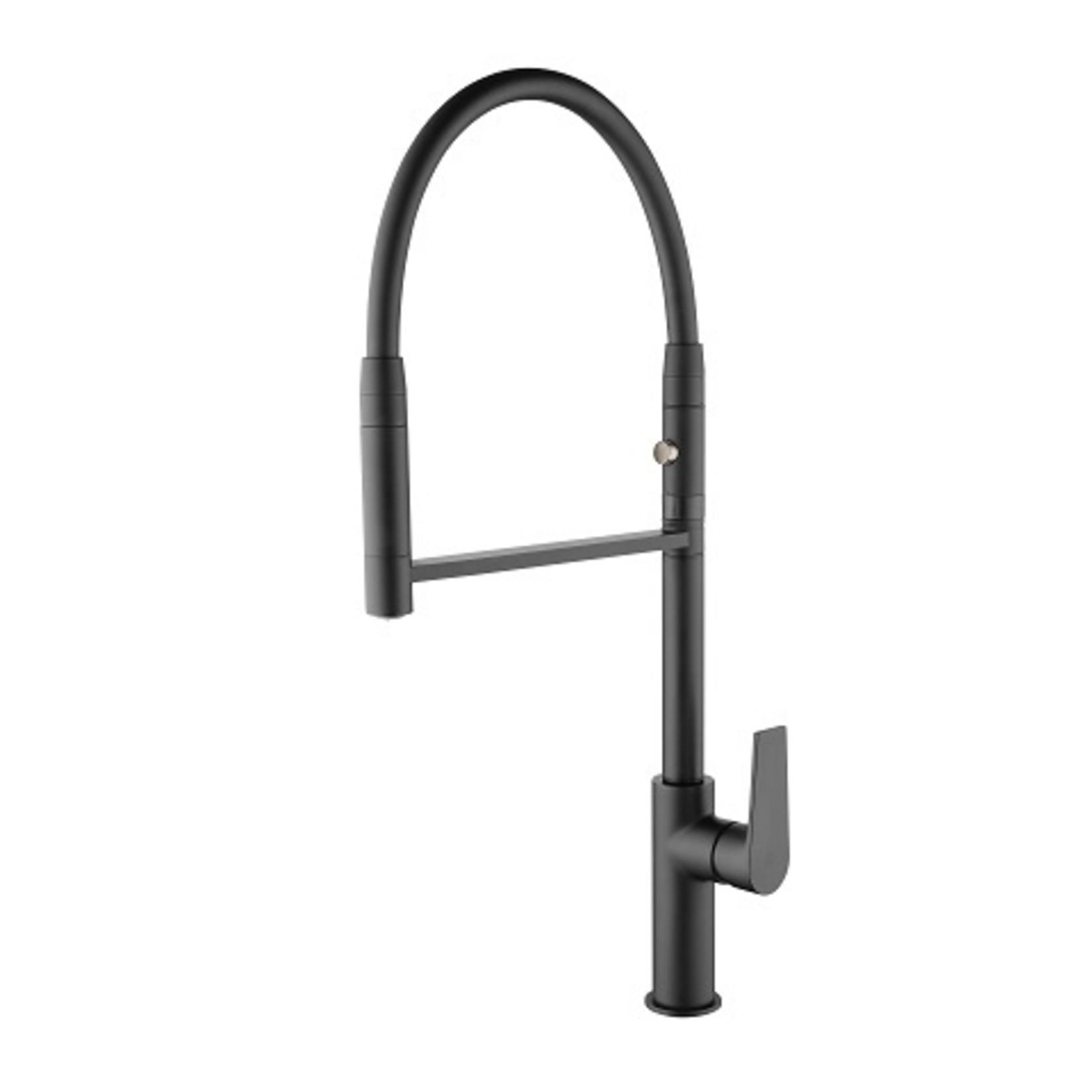 Kitchen faucet two ways Black 1108811