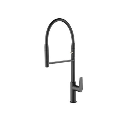 Kitchen faucet two ways Black 1108811