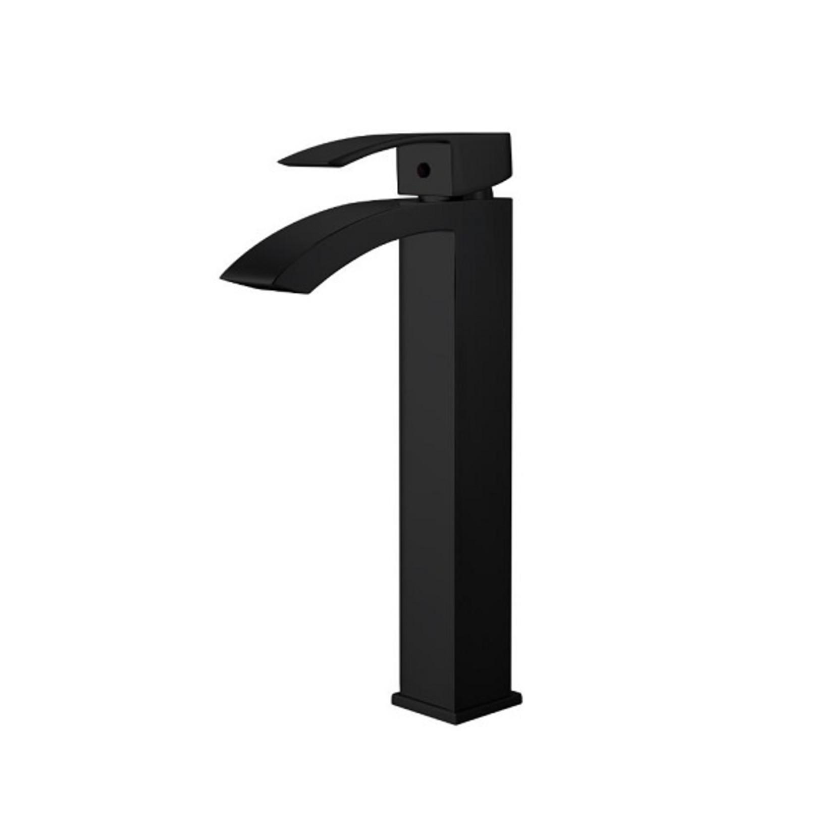 Robinet pour vasque 3817-04 Noir Mat