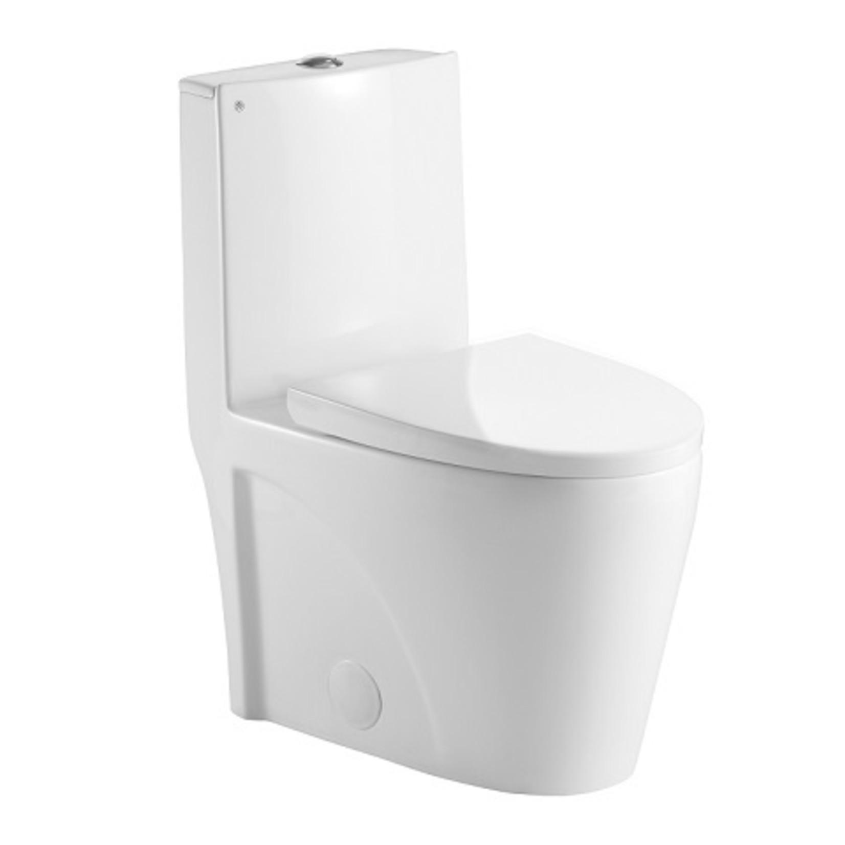 Buxton 0382 One-Piece Toilet