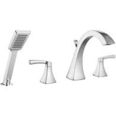 Bellati AF-344cr 4-piece chrome bathroom faucet
