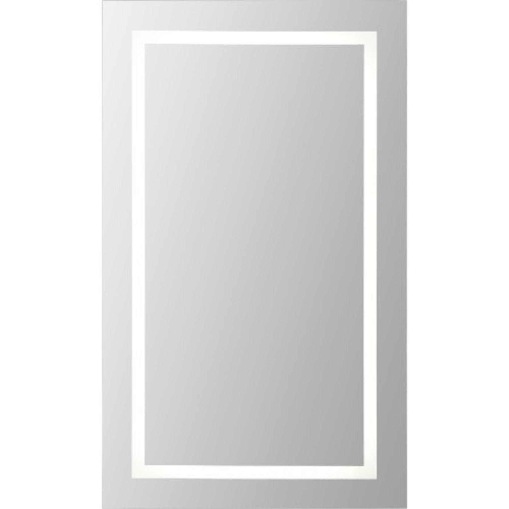 Miroir à éclairage DEL intégré