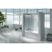 id Shower door on Uranus bath included side panel