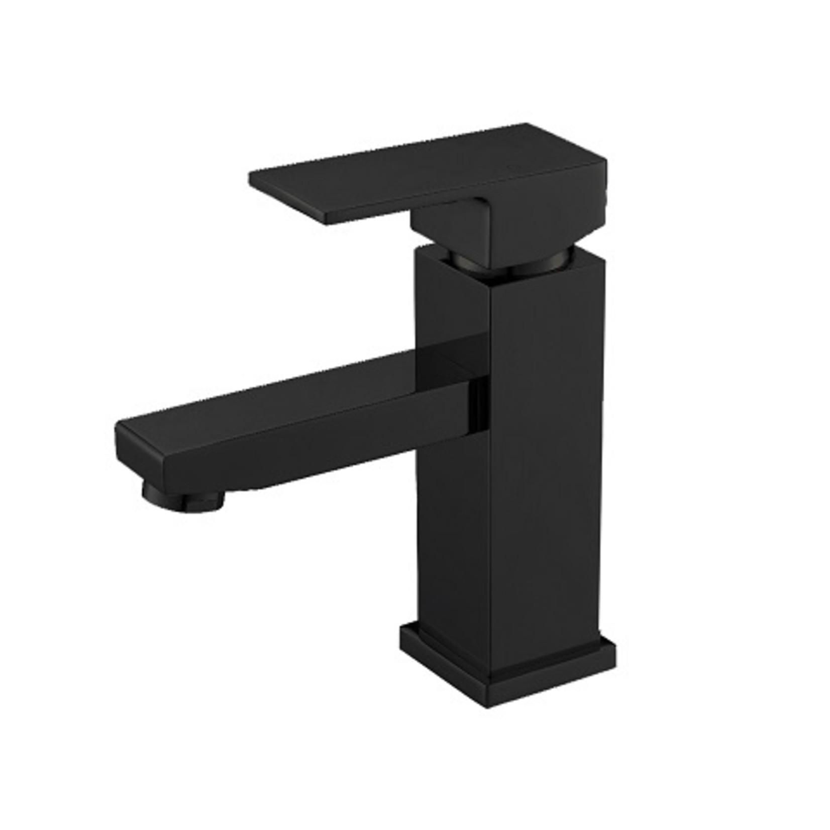 Robinet de lavabo noir mat collection Kimmi 680603