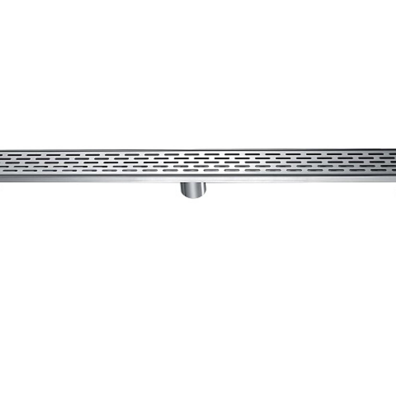 Stainless steel linear drain LYE model