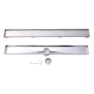 Stainless steel linear drain LVA model