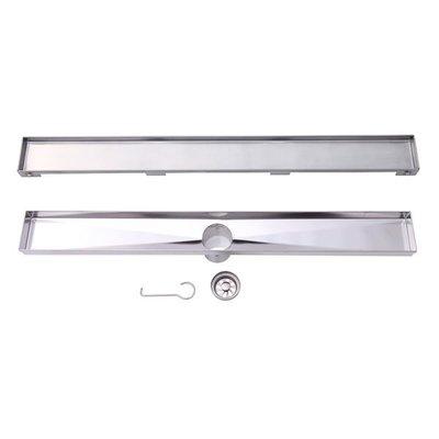 Stainless steel linear drain LVA model