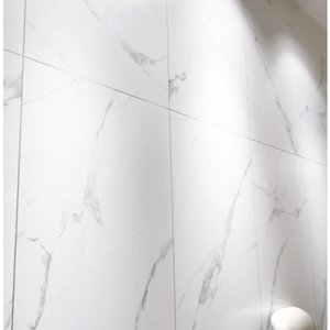 Olympia Porcelain Eterna Calacatta gray polished 24x24 (16pd per box)