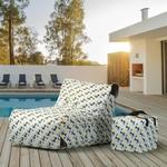 Paola Prisme Print Lounge Chair