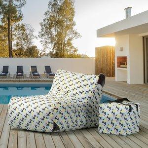Paola Paola Prisme Print Lounge Chair
