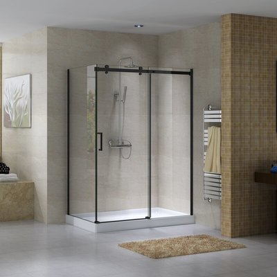 Shower Black Quartz Jade
