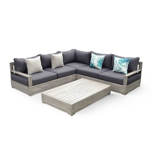 Beranda Beranda 3-Piece Sectional Patio Set