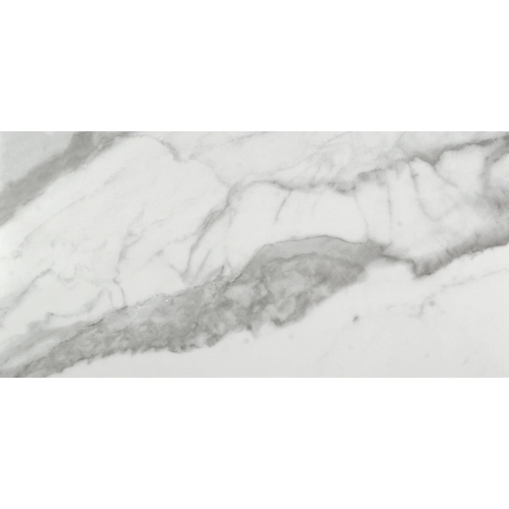 Céramique Eterna Calacatta grey 12x24  poli(16  par boite)