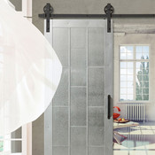 "industrial Barn door ""industrial"" 33x84 Colonial Elegance"