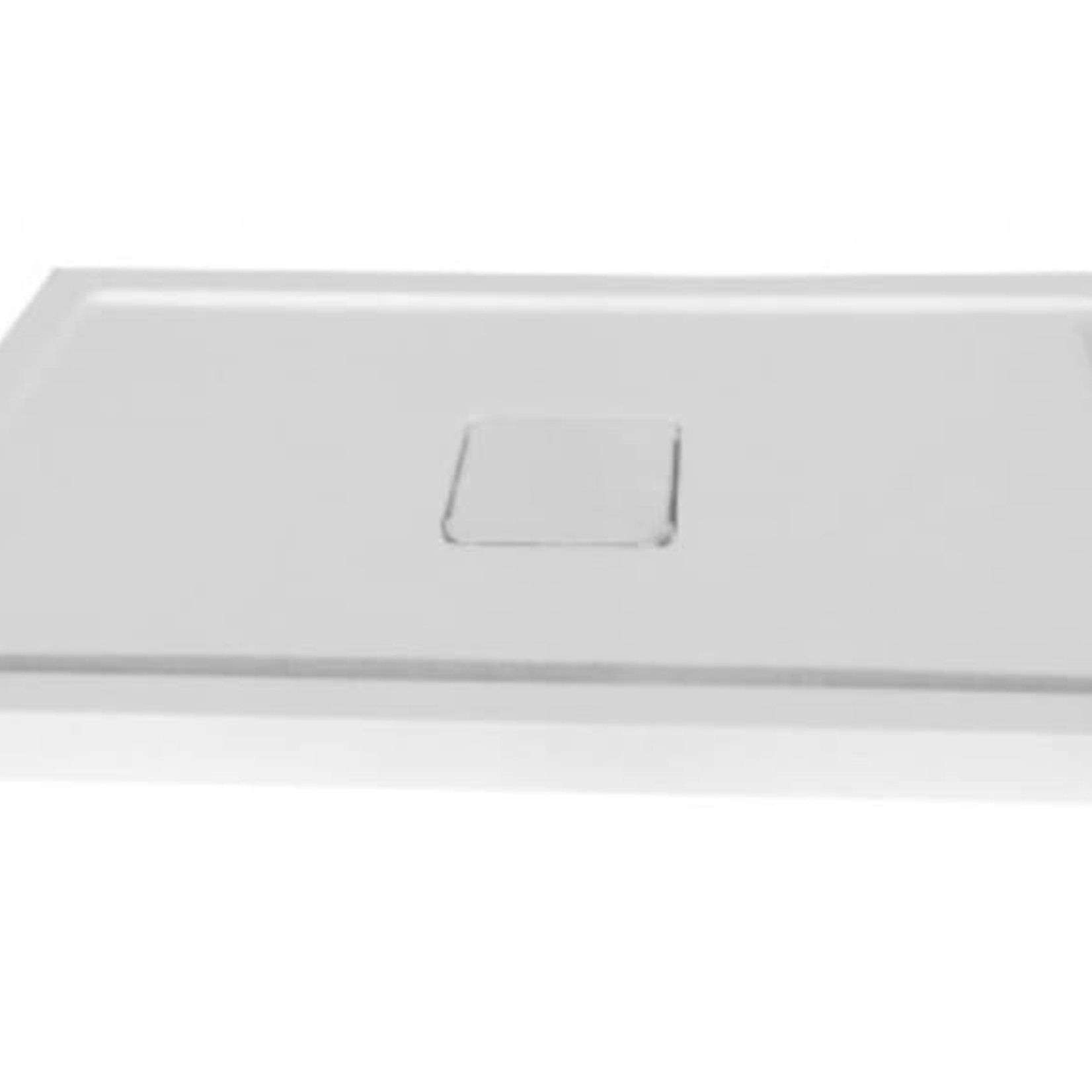 CDC central drain shower base with drain cover