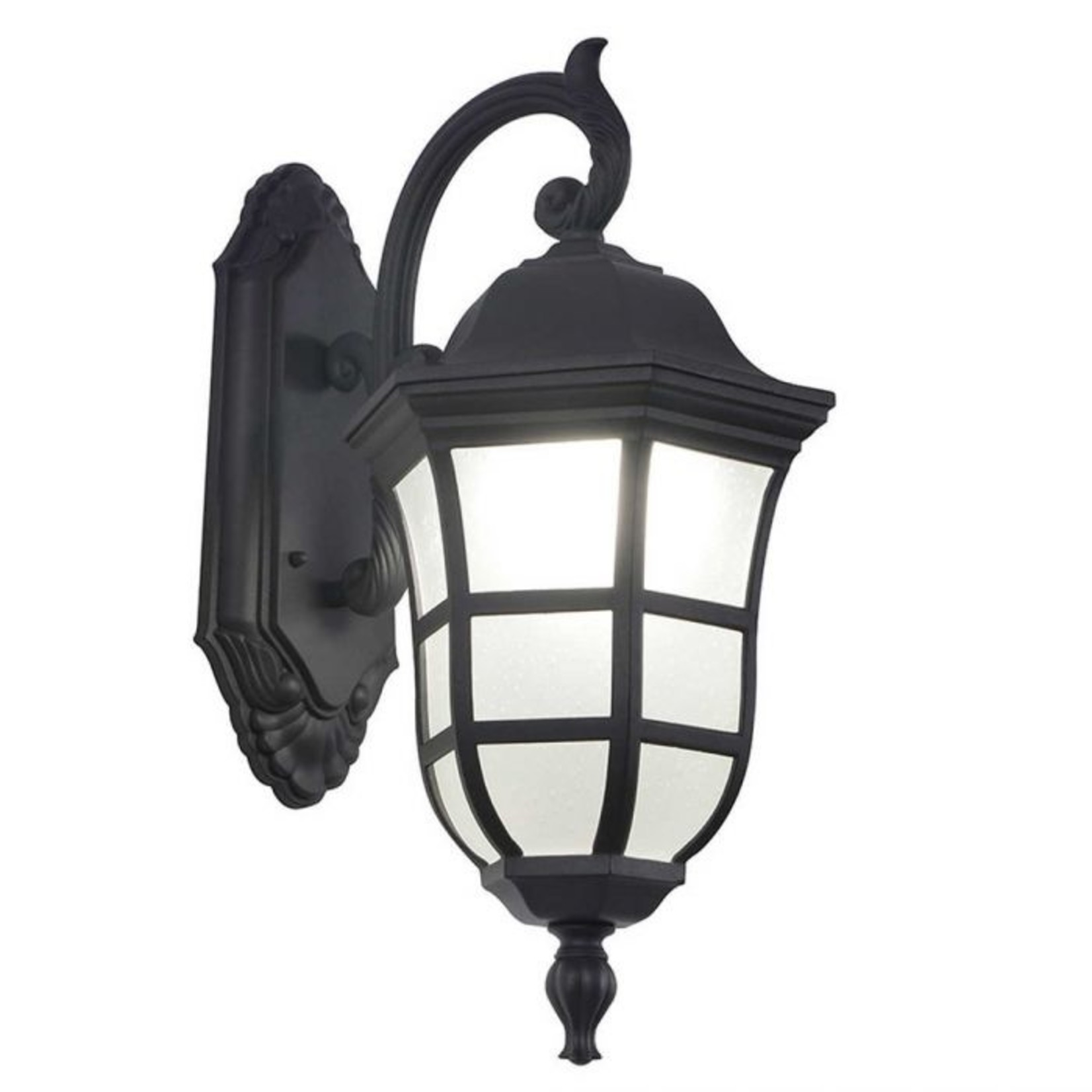 Ove Milton Coach gray outdoor light