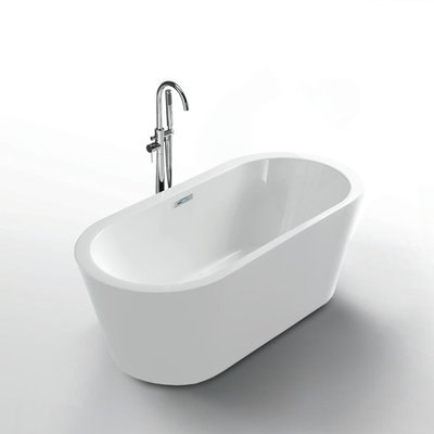"Jade Freestanding bathtub Serenity White 62 """