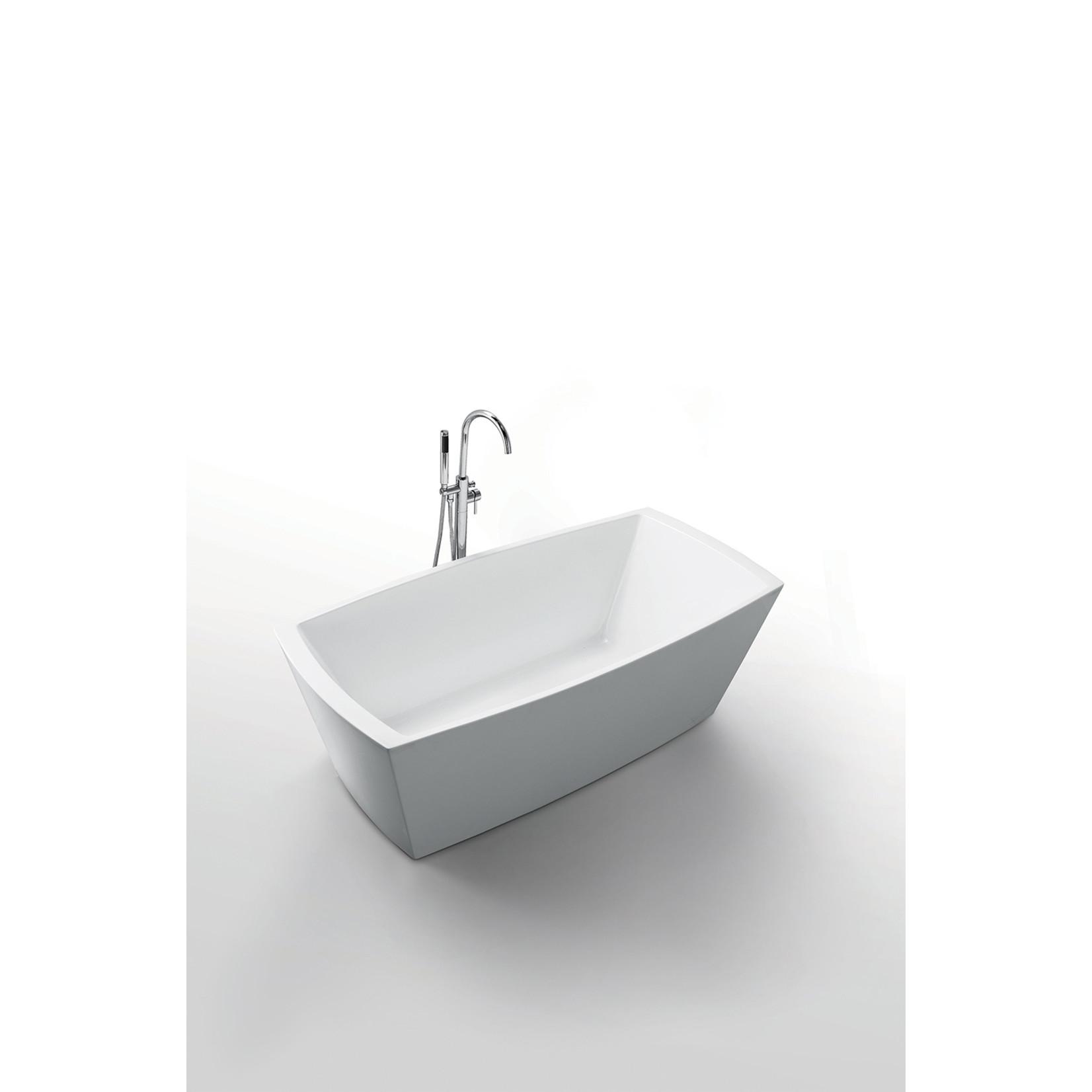 "Jade Freestanding bath Cleopatra 67 """
