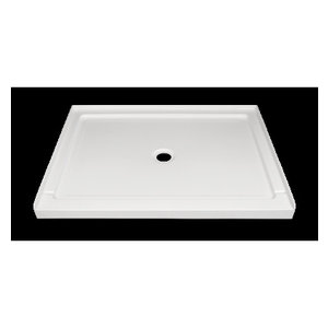 Nautika shower base central drain 48x36