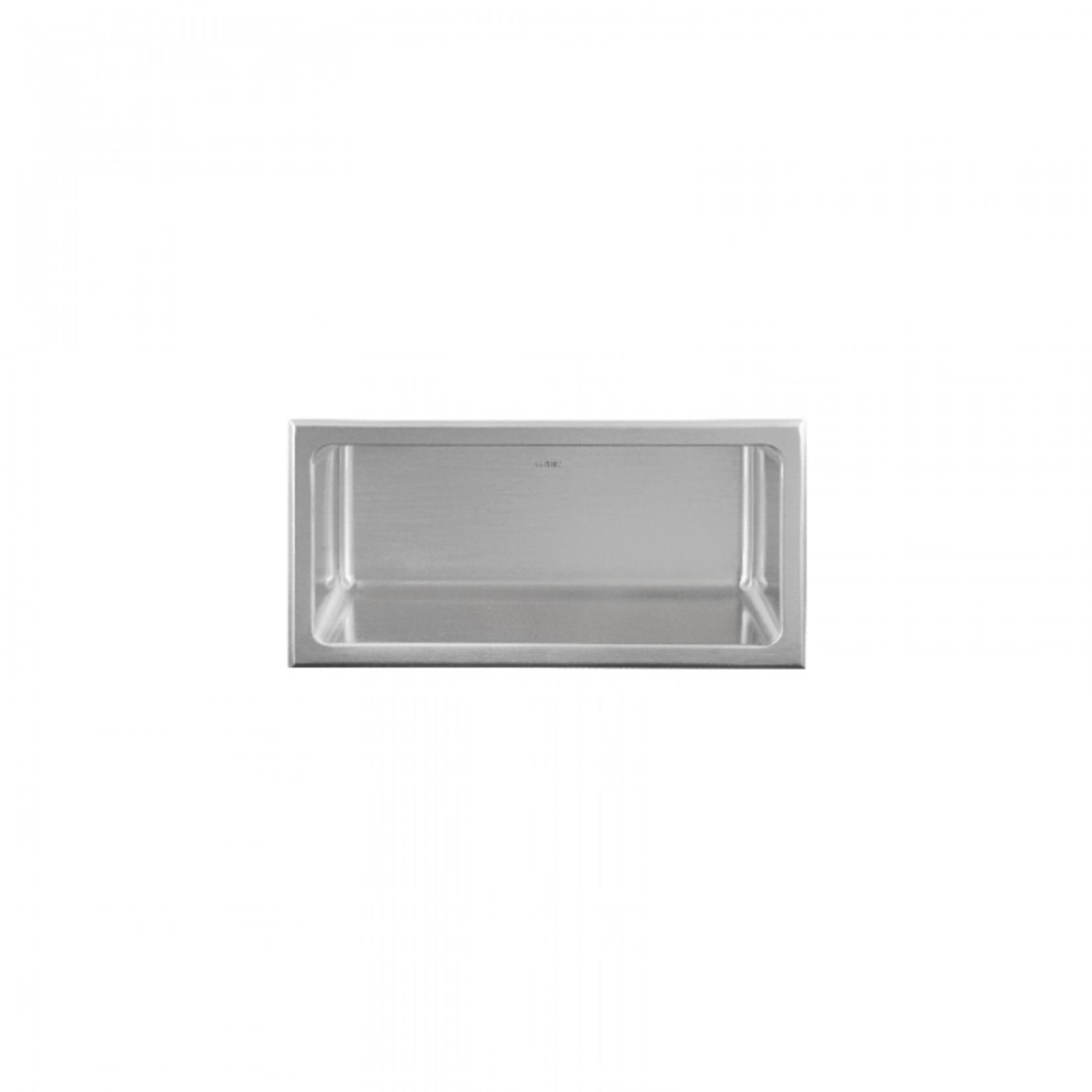 Wall niche 12x6 Stainless steel Nautika NI126