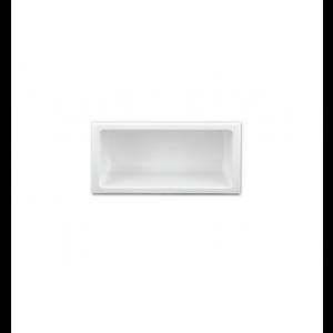 Niche de douche 12x6 blanche Nautika NI126W