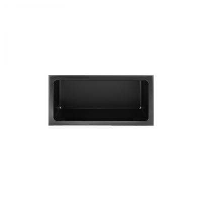 Shower niche 12x6 Black Nautika NI126B