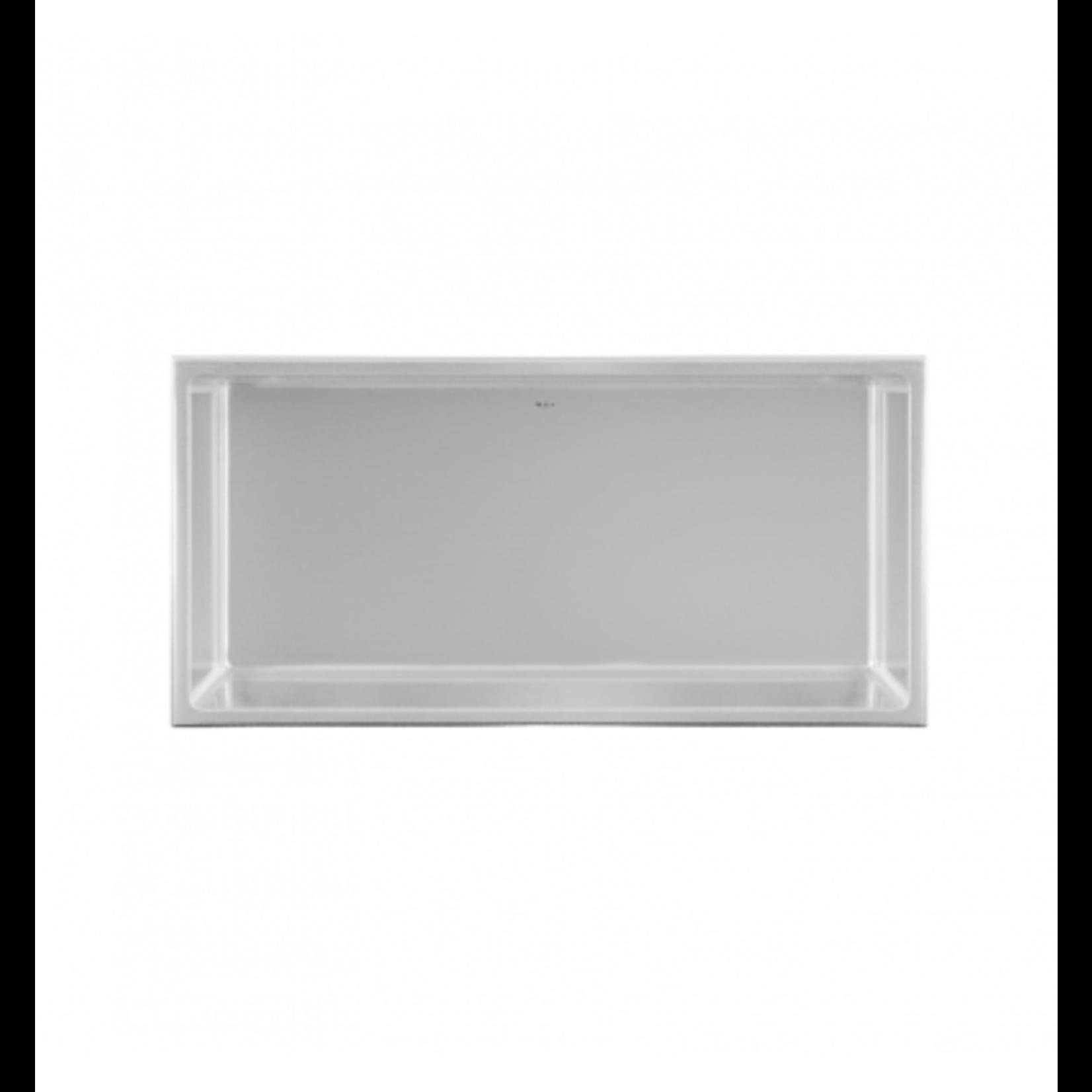 Wall niche 12x24 Stainless steel Nautika NI1224