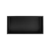 Shower niche 12x24 black NI1224B