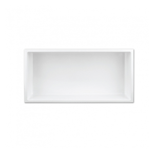 Shower niche 12x24 white NI1224W