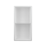 Wall niche with shelf 24x12 White Nautika NI2412TW