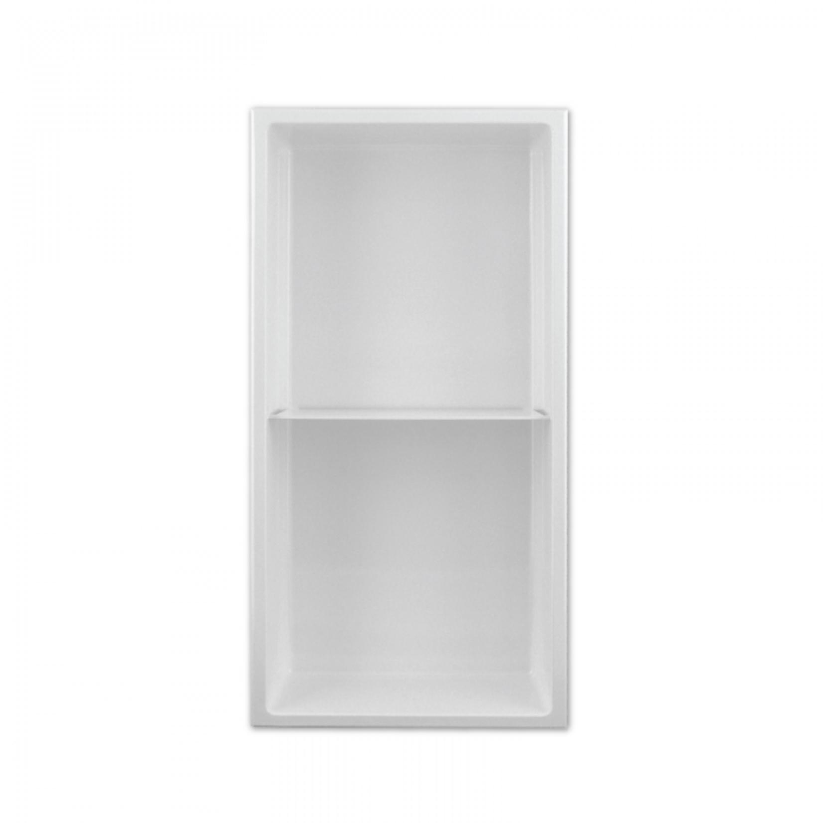 Wall niche with shelf 24x12 White Nautika NI2412TW