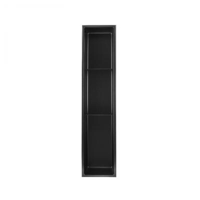 Shower niche 36x8 black Nautika NI368B