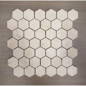 Europa Ceramic Europa 2X2 Terra Nova Hexagon Brushed (10 sheets)