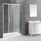 Sliding shower door Ellis 60 ""