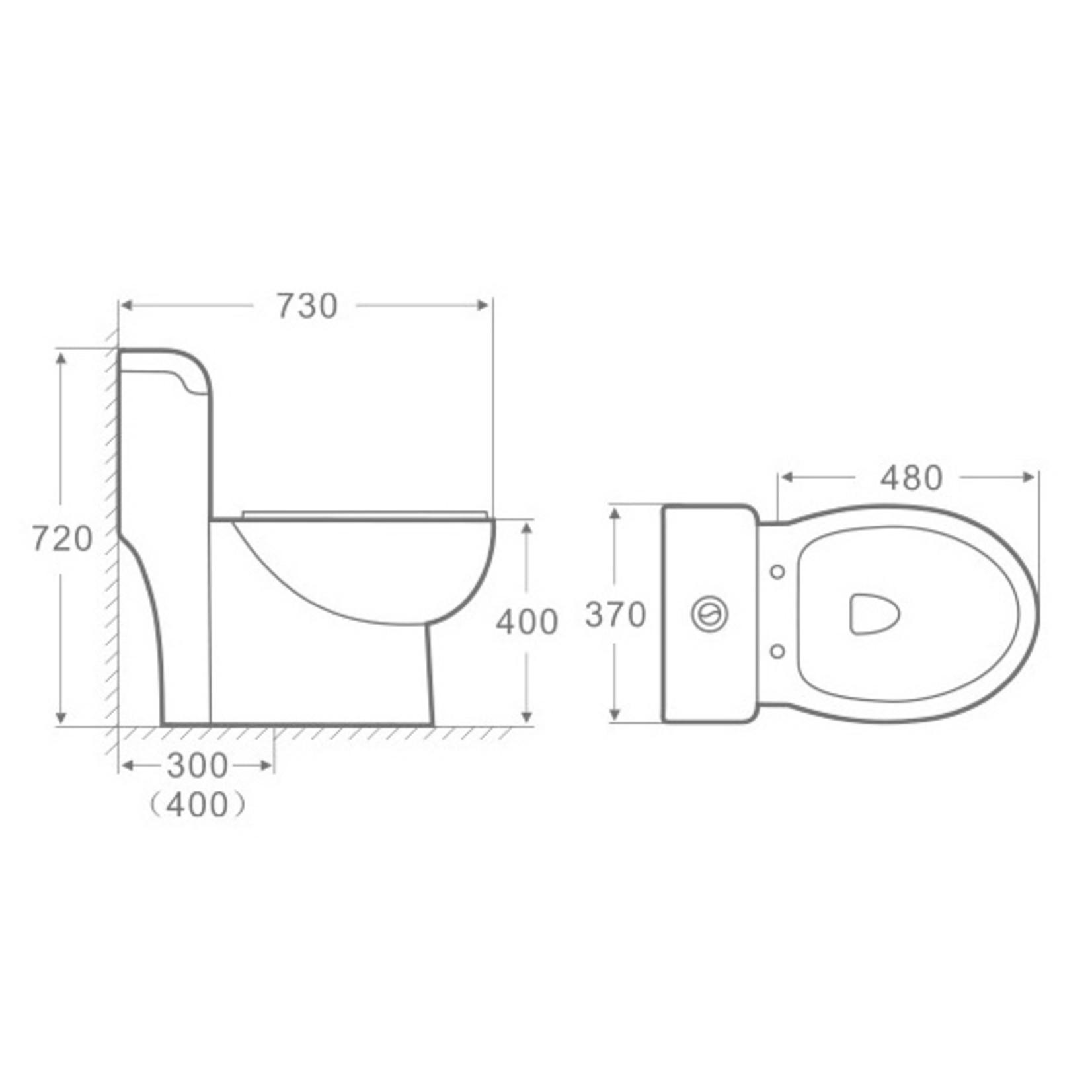 Toilette ossom MJ-310