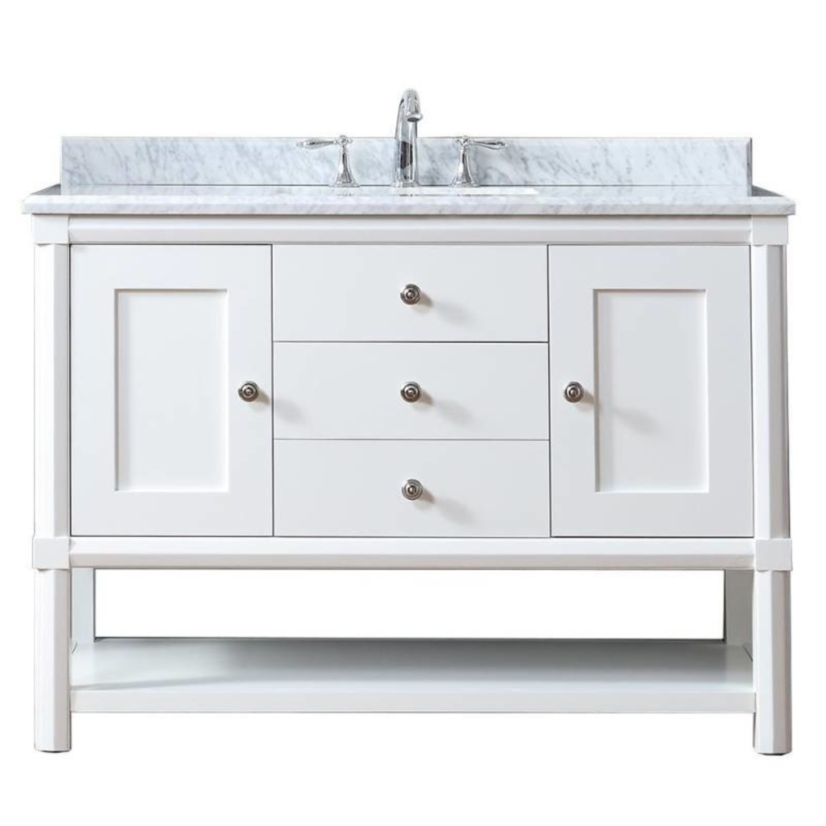 """Sutton Martha Stewart 48 """"white vanity"""