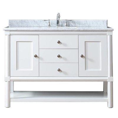 """Sutton 48  Sutton Martha Stewart 48 """"white vanity"""