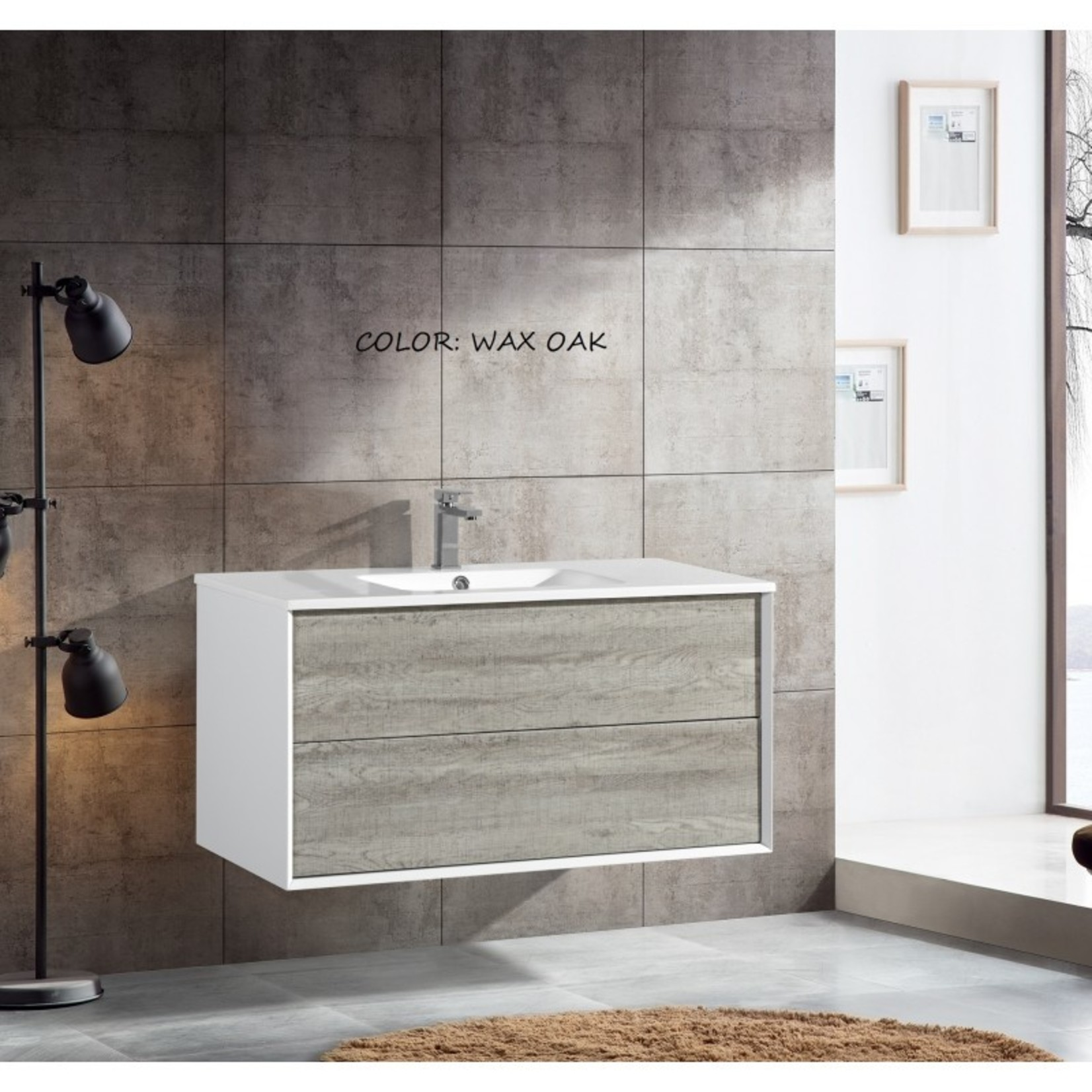 "40 ""vanity 165100 Wax Oak"