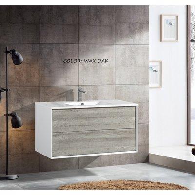 "40 ""vanity YBC 165-100 Wax Oak"