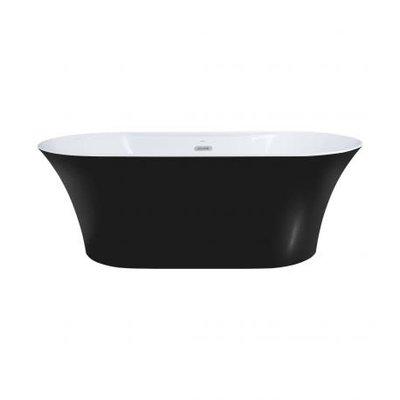 "67 ""Freestanding Bath, OSIRIS Matt Black Finish"