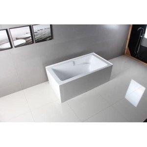 Hylas bathtub 2 sides finished