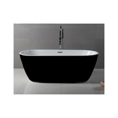 Freestanding bath 59 '' black herman