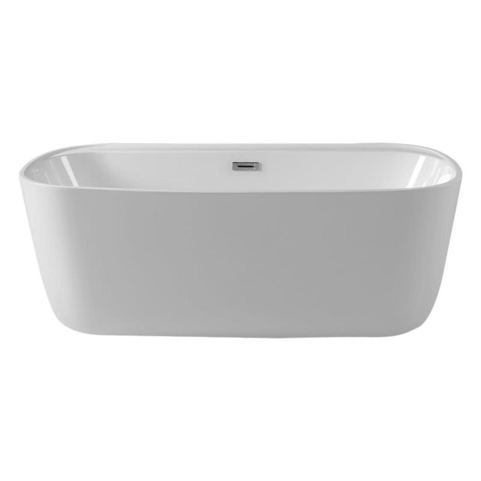 Freestanding bathtub Vola White