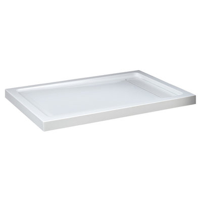 Shower base 36X48 linear drain left Nautika