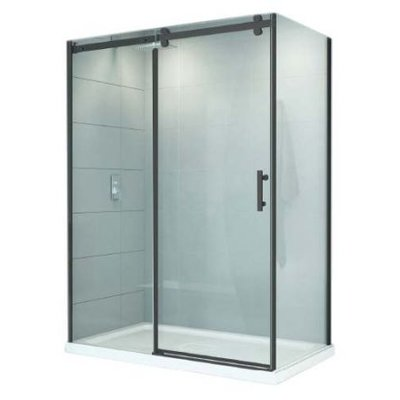 Shower CDC black 8mm 36X60