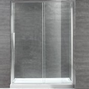 Shower set with door and base Ellisove 32x60