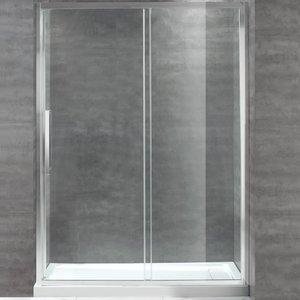Shower set with door and base Ellisove 32x60